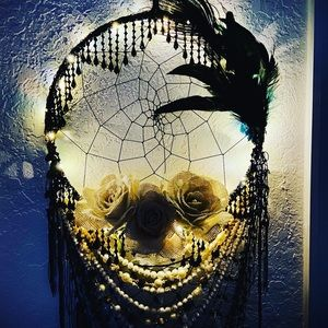 Gorgeous lighted dream catcher